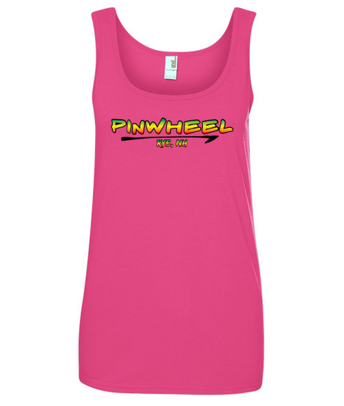 Pinwheel ladies tank