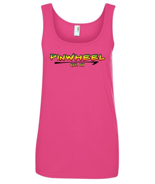 Pinwheel ladies tank