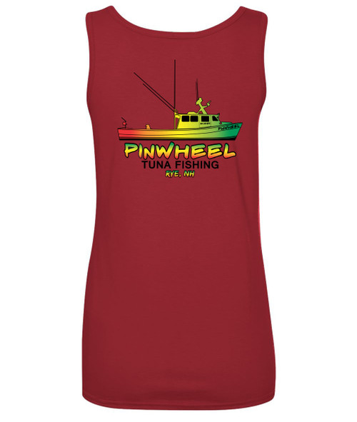Rasta boat ladies tank
