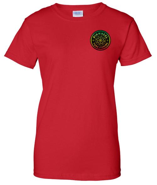 Rasta ladies t-shirt