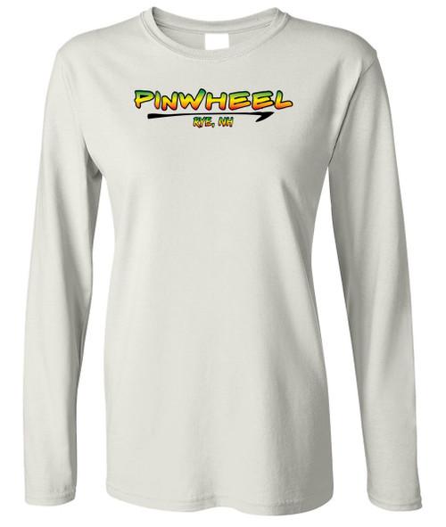 Rasta boat ladies long sleeve t-shirt