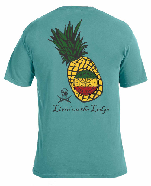 Pineapple garment-dyed tee