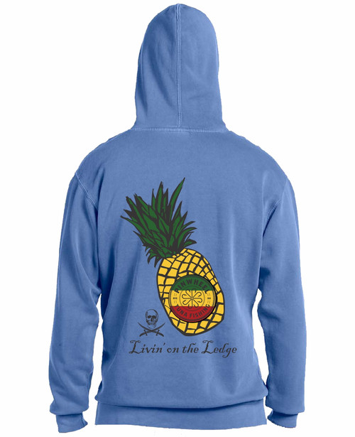 Pineapple garment-dyed sweatshirt