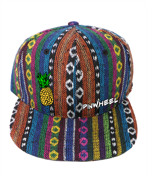 Pinwheel Pineapple Aztec Hat
