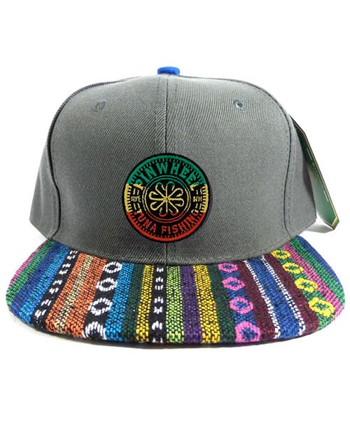 Pinwheel Rasta Aztec Hat