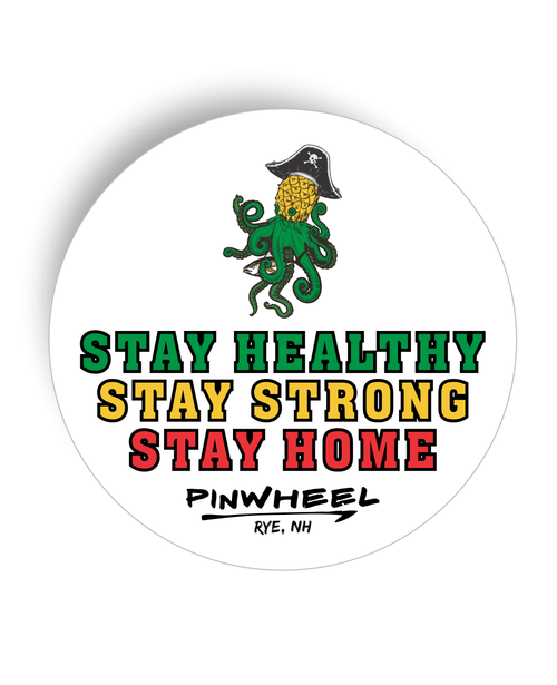 Pinwheel Strong Decal