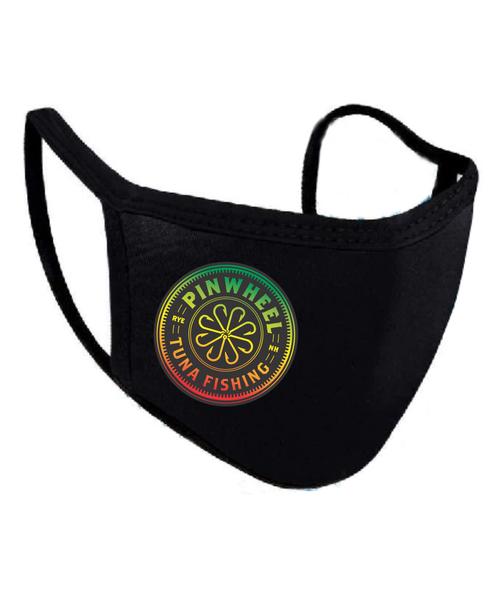 Pinwheel Rasta Face Mask