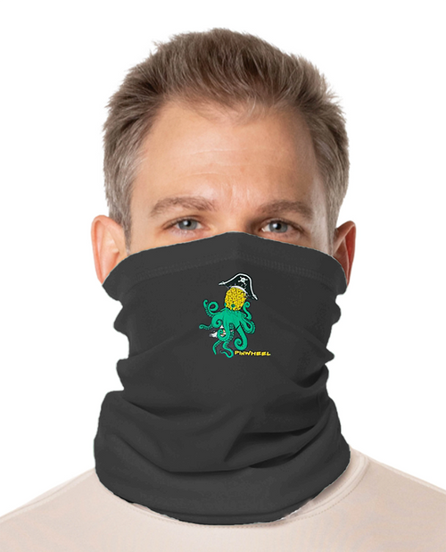 Pineapple Kraken Face and Neck Gaiter