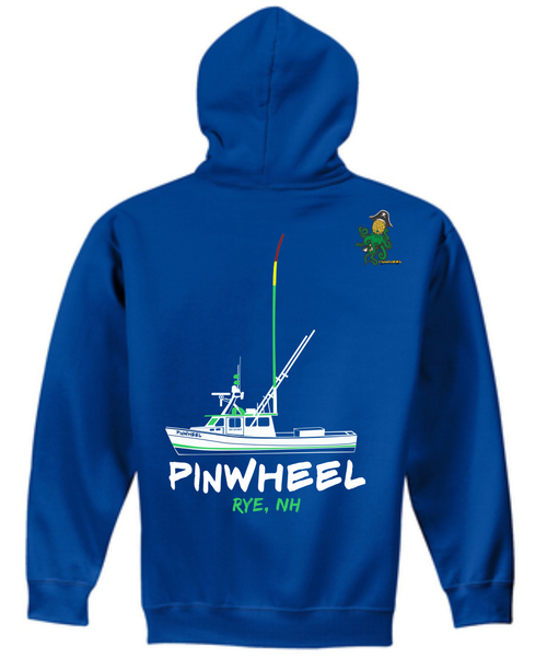 The New Pinwheel Boat Hooded Sweatshirts