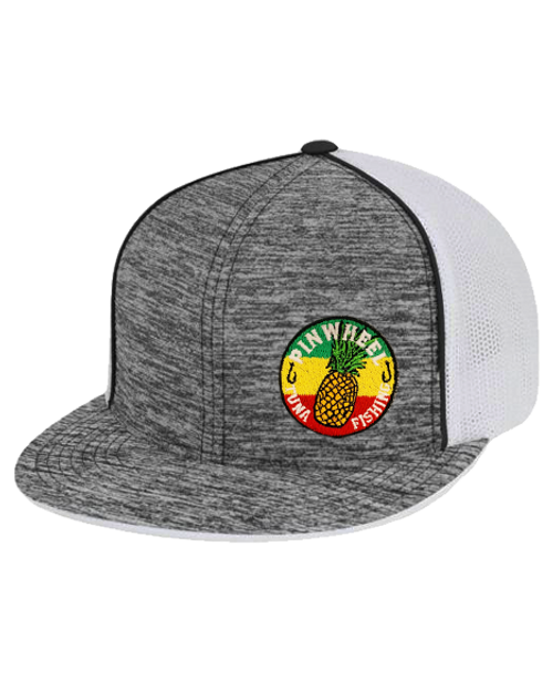 Pineapple Pinwheel Trucker Mesh Hat