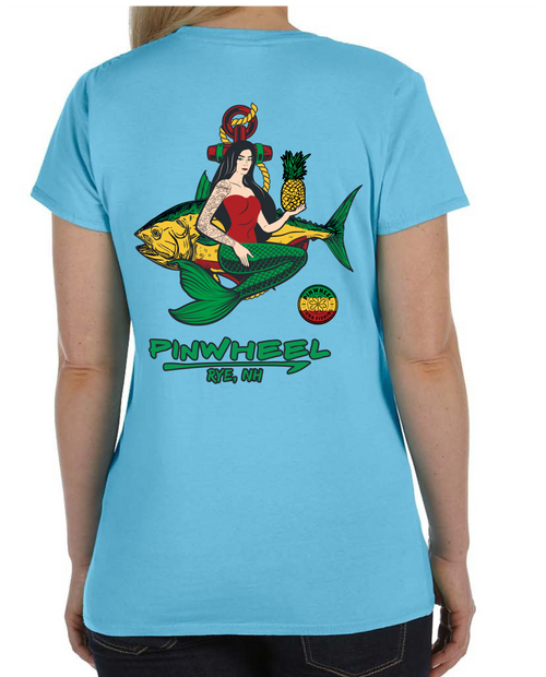 Mermaid 2021 Ladies Lightweight Tee