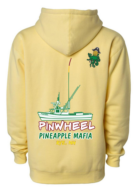 Pineapple Mafia Pigment-Dyed Sweatshirts