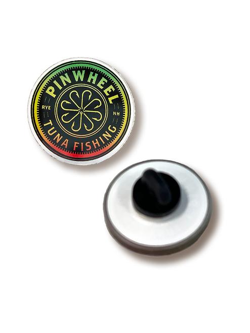 Pinwheel Acrylic Pin