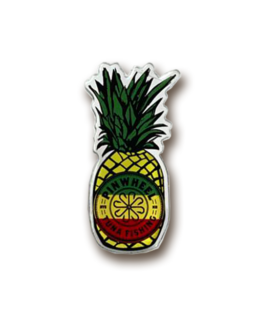 Pinwheel Pineapple Acrylic Pin