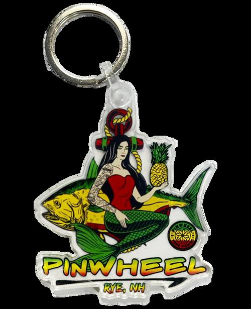 Mermaid Acrylic Keychain