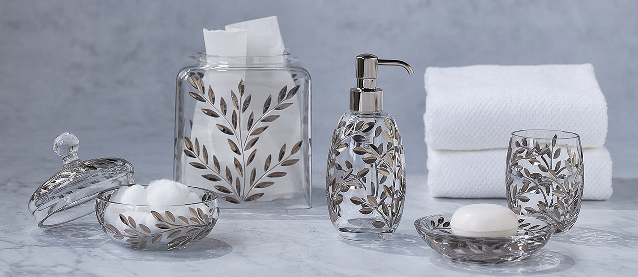 Beautiful Soap Dispensers, Tissue Covers and More