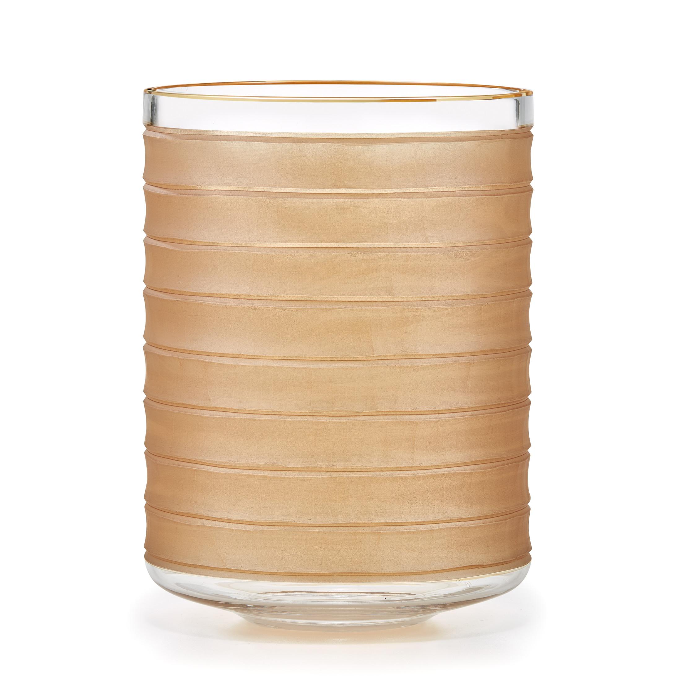 Hula Amber Waste Basket