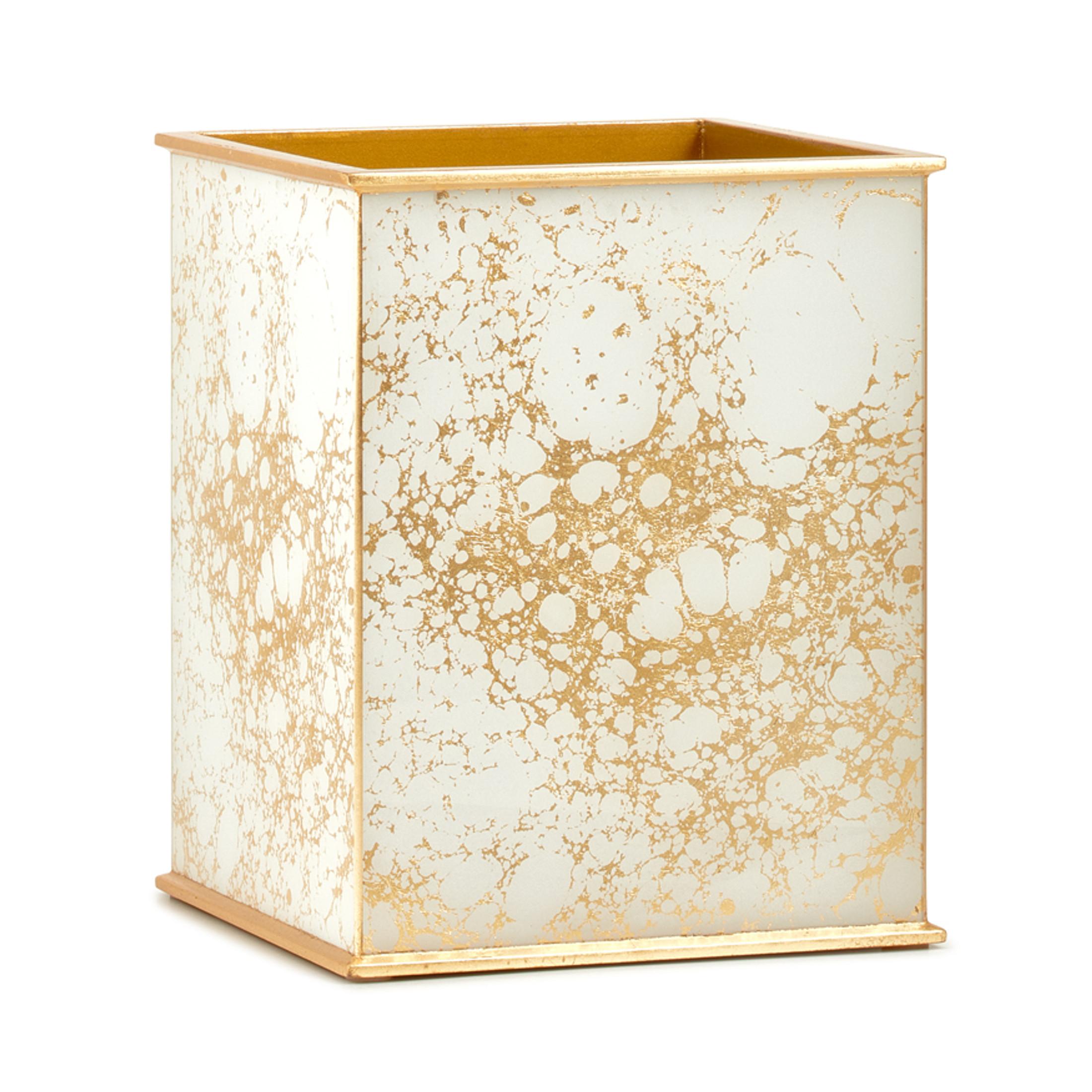 Amari Gold Waste Basket
