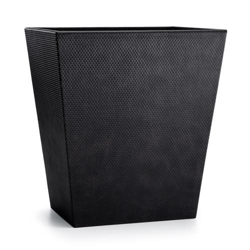 Logan Black Waste Basket