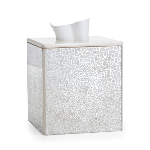 Miraflores Ivory Tissue Cover
