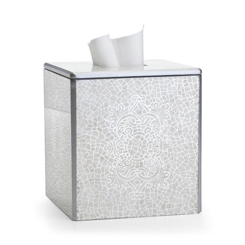 Miraflores Silver Tissue Cover