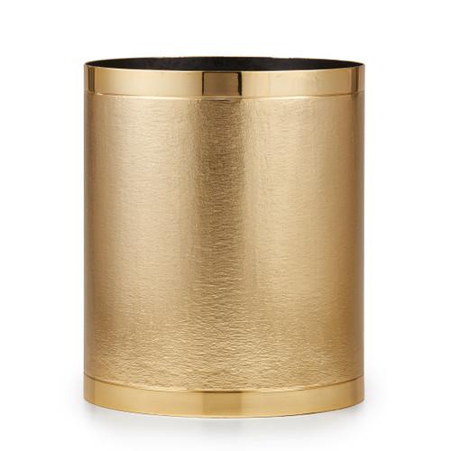 Mano Gold Waste Basket
