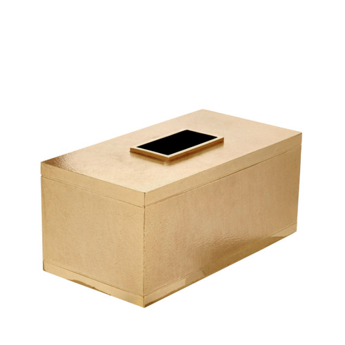 Mano Gold Tissue Cover - Rectangle