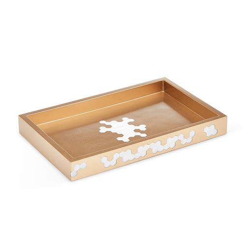Hex Gold Tray