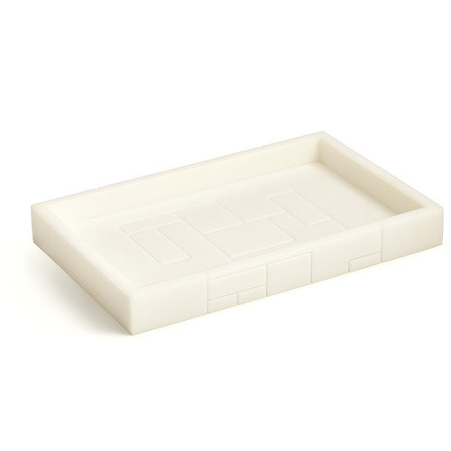 Linear White Tray