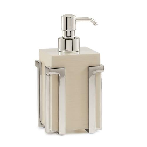 Embrace Ash/Nickel Pump Dispenser