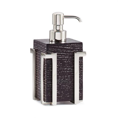 Embrace Oak/Nickel Pump Dispenser