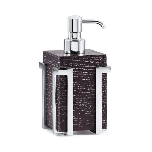 Embrace Oak/Chrome Pump Dispenser