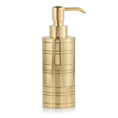 Rings Brass Pump Dispenser