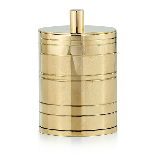 Rings Brass Canister
