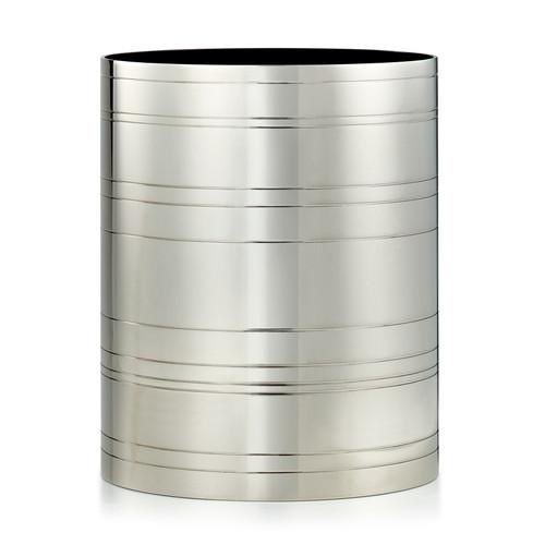 Rings Nickel Waste Basket