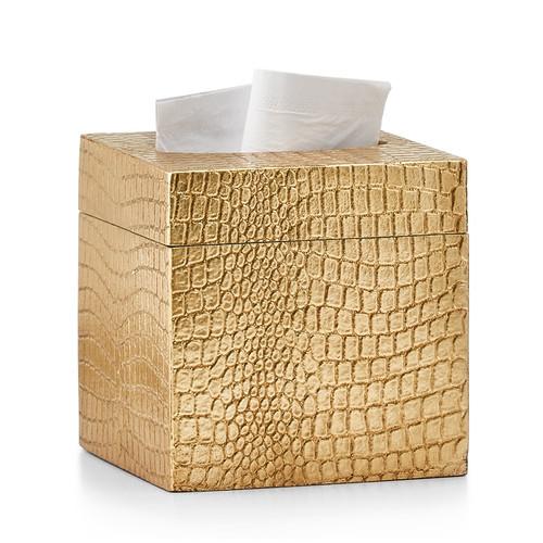 Crocodile Gold Tissue Cover