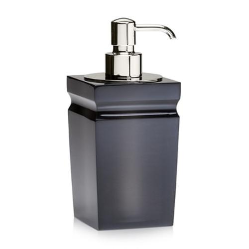 Milo Smoke Gloss Pump Dispenser - Polished Nickel