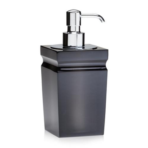 Milo Smoke Gloss Pump Dispenser - Polished Chrome