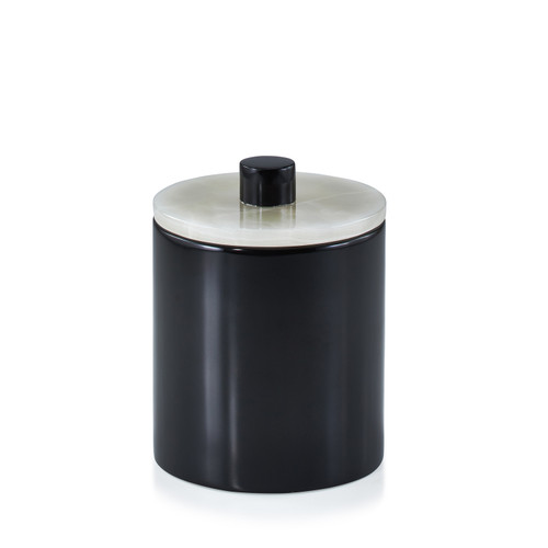 Puebla Gray Canister - Large