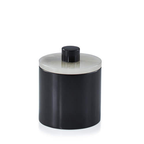Puebla Gray Canister - Small