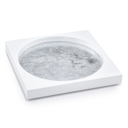 Moongate Silver Tray