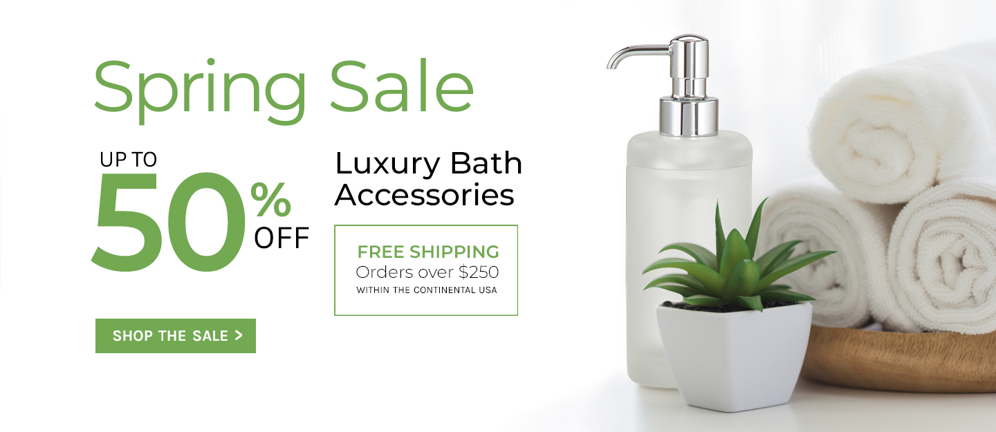 Luxury Bath Accessory Sale