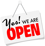 We're open for business and shipping safely and quickly!