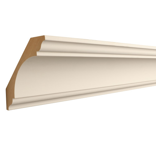 "041 Primed MDF Crown - 1-3/16"" x 6-5/16"""