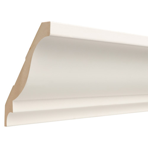 "043 Primed MDF Crown - 1"" x 6-15/16"""