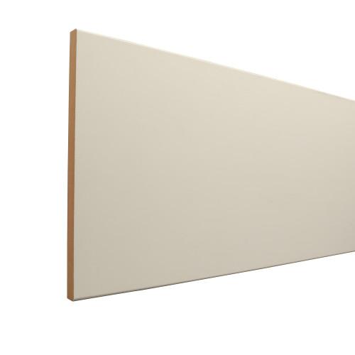 """110 Primed MDF S4S Board - 11/16"""" x 9-1/4"""""""
