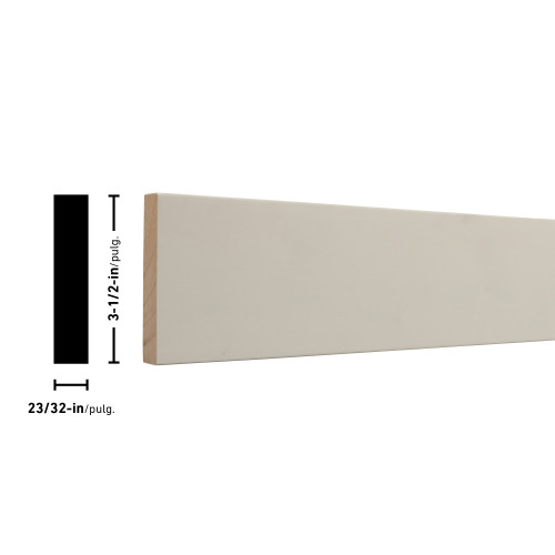 "1X4 Primed FJ Board - 23/32"" x 3-1/2"""