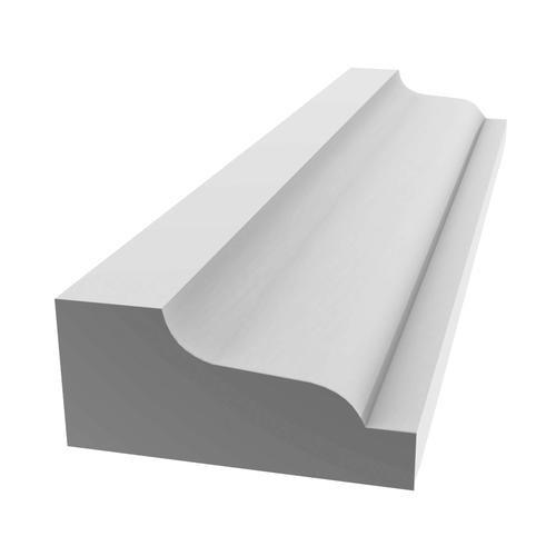"""210 PVC Shingle Moulding - 11/16"""" x 1-5/8"""""""
