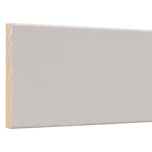 "433 E2E Primed FJ Pine Baseboard - 9/16"" x 3-1/4"""