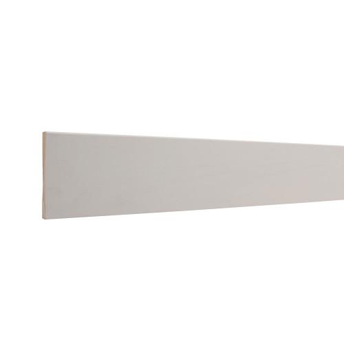 """433E E1E Clay Coat Primed FJ Pine Baseboard - 9/16"""" x 3-1/4"""""""